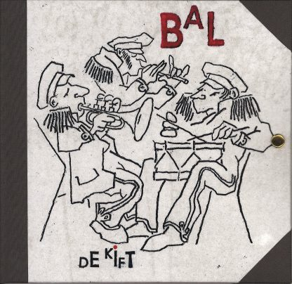 Bal cd artwork front door Wim ter Weele