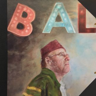 Bal lp artwork front door Wim ter Weele